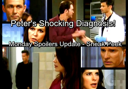 General Hospital Spoilers: Monday, March 12 Update – Peter Gets Huntington's Diagnosis – Anna Hears More of Valentin's Lies