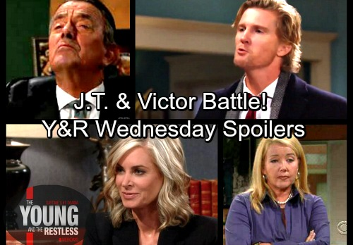 The Young and the Restless Spoilers: Wednesday, March 14 – Ashley Sues Jack and Victor - Nikki's Affair Blows Up