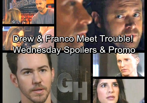 General Hospital Spoilers: Wednesday, March 14 – Drew and Franco Meet Trouble – Peter Panics Over New Heinrik Lead