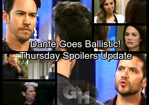 General Hospital Spoilers: Thursday, March 15 Update – Drew and Franco Push Jim Too Far – Dante Goes Ballistic – Ned's Big Plan