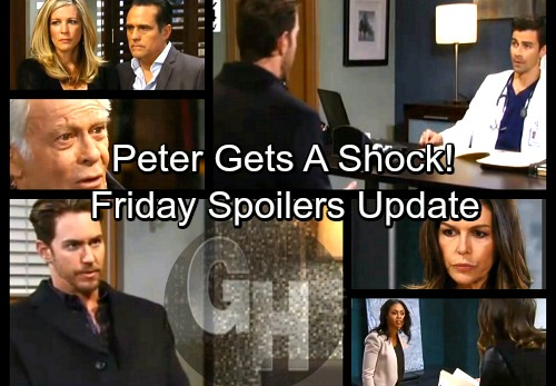 General Hospital Spoilers: Friday, March 16 Update – Maxie Learns Baby's Fate – Griffin Pumps Peter for Info - Mike's Sad Fate