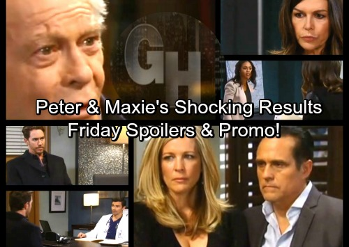 General Hospital Spoilers: Friday, March 16 – Peter and Maxie's Test Results – Sam Stuns Liz with a Threat - Mike Breaks Down