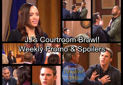 Days of Our Lives Spoilers: Justin Forces Lani to Spill Cheating News – Courtroom Chaos Explodes as JJ Attacks Eli