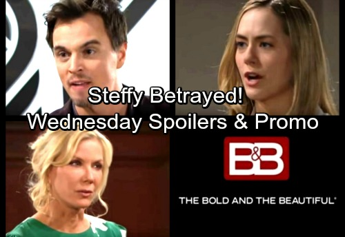 The Bold and the Beautiful Spoilers: Wednesday, March 21 – Steffy Fumes Over Hope's Betrayal – Wyatt Defends His Innocence