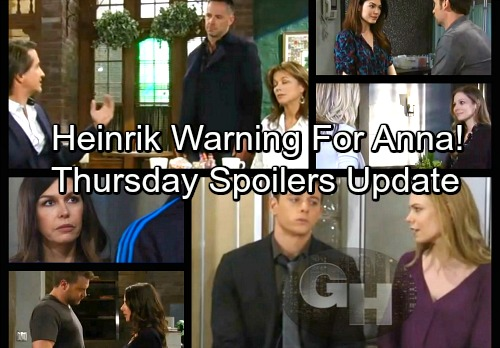 General Hospital Spoilers: Thursday, March 22 Update – A Warning For Anna – Franco Comes Clean – Michael and Nelle Clash