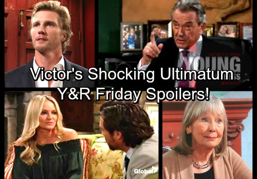 The Young and the Restless Spoilers: Friday, March 23 – Victor's Ultimatum Stuns J.T. – Dina Spills Shocking Secret