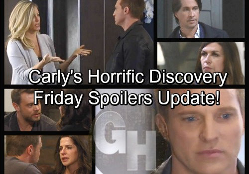 General Hospital Spoilers: Friday, March 23 Update – Carly's Horrific Discovery – Sam Devastates Drew – Jason Seeks Out Spinelli