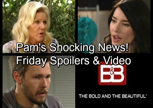 The Bold and the Beautiful Spoilers: Friday, March 23 – Liam Seeks the Truth – Pam Spreads Shocking News – Hope Appeals to Steffy