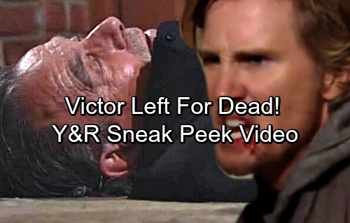 The Young and the Restless Spoilers: Y&R Sneak Peek Video – J.T. and Victor's Brutal Brawl – Victor Left For Dead