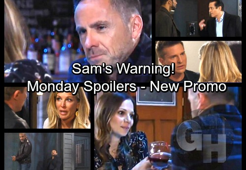 General Hospital Spoilers: Monday, March 26 Update – Sam Gets a Warning – Andre's Tough Choice – Jim Harvey Distracts Drew