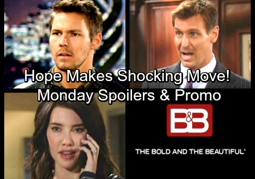 The Bold and the Beautiful Spoilers: Monday, March 26 – Hope's Shocking Move - Thorne's Novel Strategy for Ridge