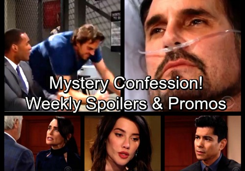 The Bold and the Beautiful Spoilers: Week of March 26 – New Promo Video - Ridge's Shocking Move – Mystery Person Confesses