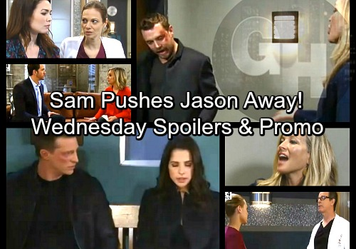 General Hospital Spoilers: Wednesday, March 28 – Carly Rips Into Drew – Sam Pushes Jason Away – Kiki Draws the Line