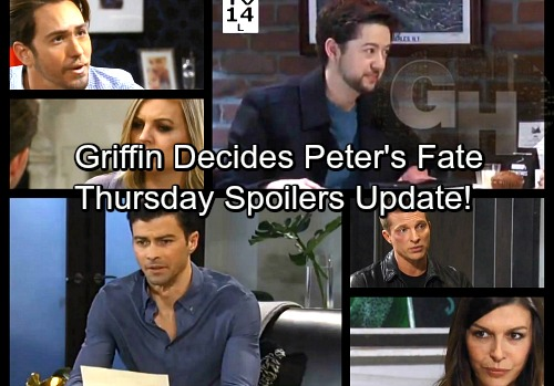 General Hospital Spoilers: Thursday, March 29 Update – Jason and Anna War Heats Up – Griffin's Big Decision – Valentin in Trouble