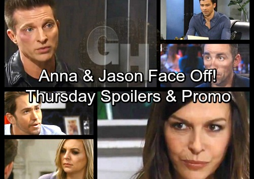 General Hospital Spoilers: Thursday, March 29 – Griffin Learns Peter's Paternity – Nina's Mission – Anna and Jason Fight