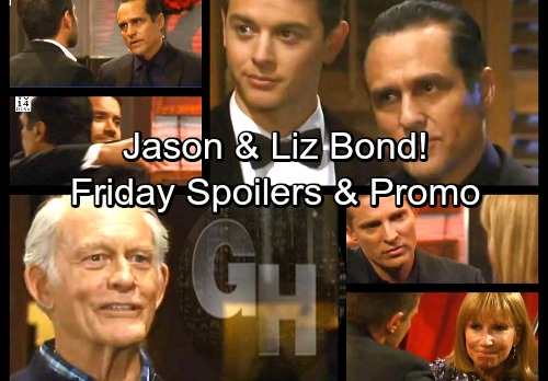 General Hospital Spoilers: Friday, March 30 – Mike's Blast from the Past – Jason and Liz Bond – Bobbie Learns a Secret