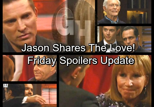 General Hospital Spoilers: Friday, March 30 Update – GH's 55th Anniversary Party – Sonny's Top-Secret Plan – Jason Spreads the Love