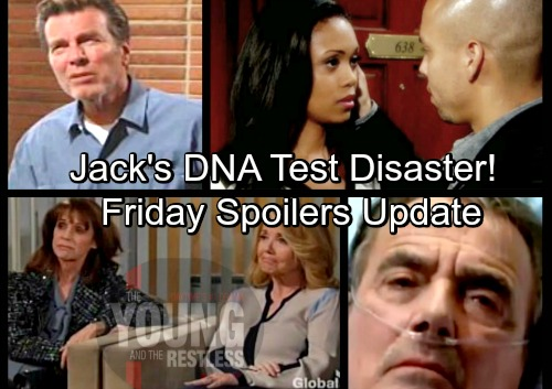 The Young and the Restless Spoilers: Friday, March 30 Update – Jack's DNA Results In, Not John's Son - Victor Offers a Clue