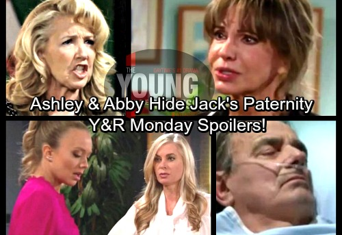 The Young and the Restless Spoilers: Monday, April 2 – Victor's Mystery Visitor – Ashley and Abby Hide Jack's Paternity [via celebdirtylaundry]