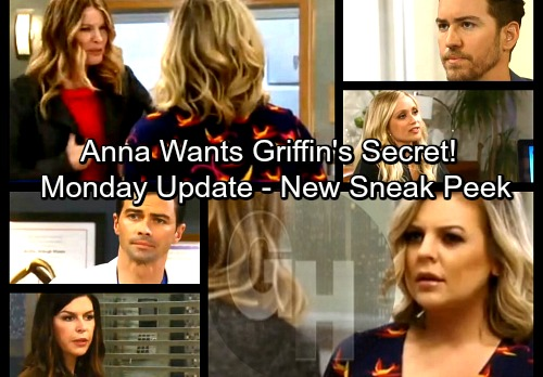 General Hospital Spoilers: Monday, April 2 Update – Sam's Farewell – Anna Rattles Griffin – Jason and Spinelli Conspire
