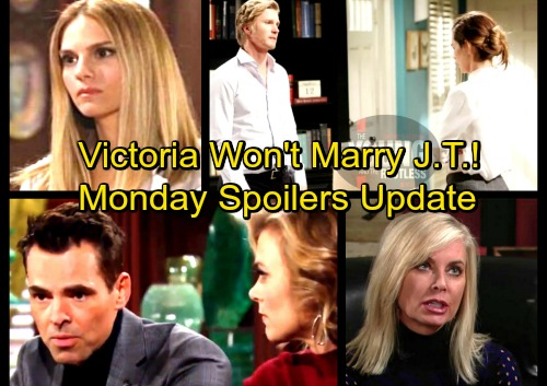 The Young and the Restless Spoilers: Monday, April 2 Update – Victoria Refuses To Marry J.T. – Shocking New Promo