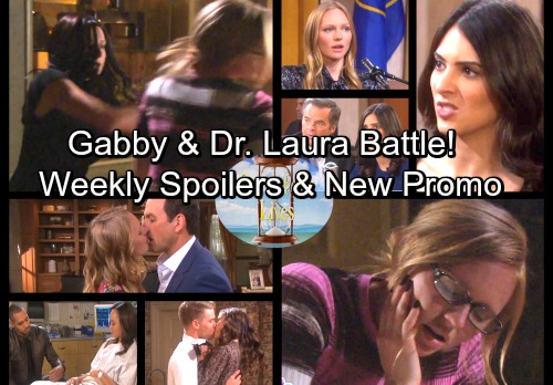 Days of Our Lives Spoilers: Week of April 2 – Dr. Laura and Gabby at War – Gabi's Verdict Revealed – New Video Promo