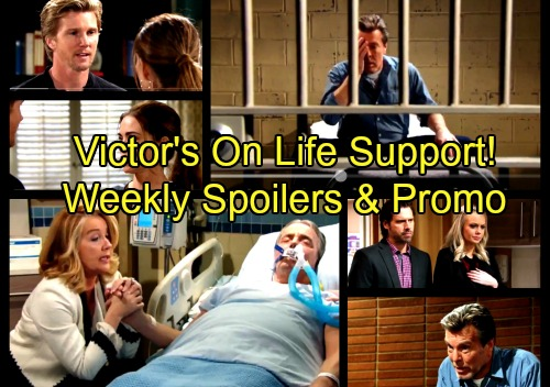The Young and the Restless Spoilers: Week of April 2-6 – Victor's On Life Support - Nikki Fears She'll Have to Pull the Plug