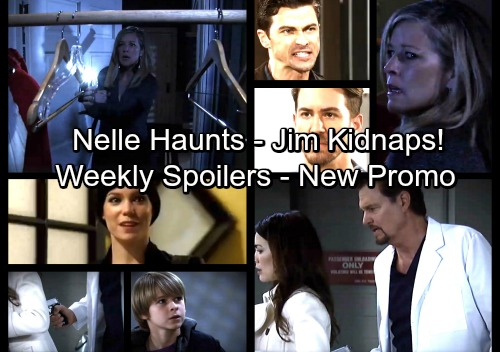 General Hospital Spoilers: Jim Takes Liz and Jake Hostage at Gunpoint – Morgan Haunting Shocks Carly – Griffin Exposes Peter