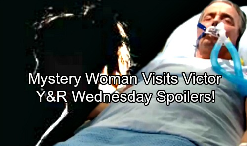 The Young and the Restless Spoilers: Wednesday, April 4 – Mystery Woman Appears in Victor's Room – Abby's Intrigued by New Hunk