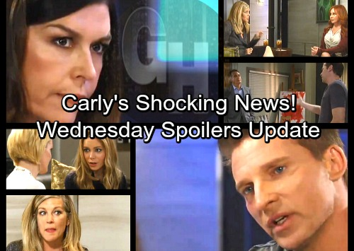 General Hospital Spoilers: Wednesday, April 4 Update – Carly Delivers Shocking News – Jason Revs Up the Pressure – Ava Snoops