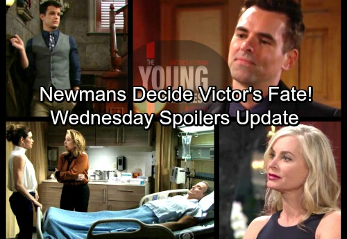 The Young and the Restless Spoilers: Wednesday, April 4 Update – Victor's In Septic Shock, Family Discusses Life or Death Decision