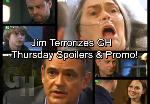 General Hospital Spoilers: Thursday, April 5 – Jim Comes To Kill Betsy, Pulls Gun on Liz and Jake – Kiki Blasts Dr. Bensch