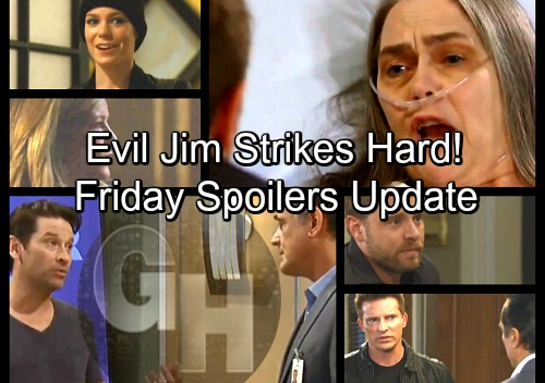 General Hospital Spoilers: Friday, April 6 Update – Morgan Ghost Bombshells Rock Carly – Jim Tightens Evil Grip – Kim Warns Oscar