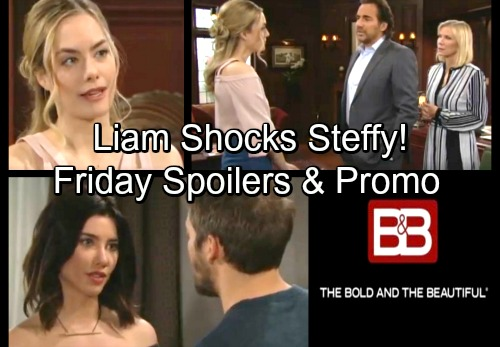 The Bold and the Beautiful Spoilers: Friday, April 6 – Liam's Decision Shocks Steffy – Hope Keeps Secrets – Bill Relies on Justin