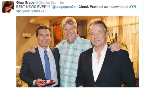 'The Young and The Restless' Spoilers: Chuck Pratt OUT as Y&R Head Writer – Fans Rejoice!