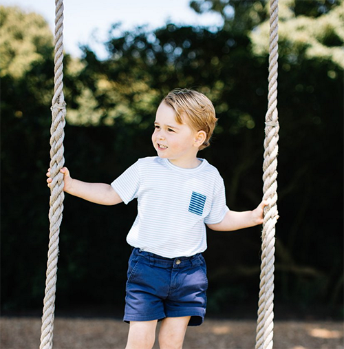 Kate Middleton And Prince William Release New Photos Celebrating Prince George's 3rd Birthday - SEE The Adorable Pics Here!