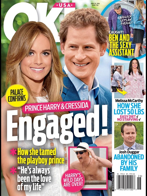 Prince Harry and Cressida Bonas Engaged: Planning Royal Wedding Despite Queen Elizabeth's Negative Feelings? (PHOTO)