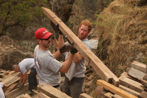 Prince Harry Puts Kate Middleton and Prince William To Shame During Nepal Earthquake Relief Work
