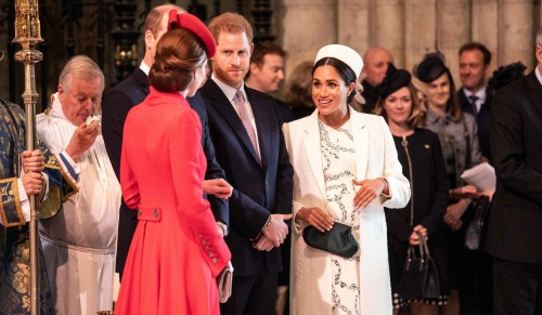Kate Middleton Gives Meghan Markle Unusual Show Of Affection In Public: Kisses Prince Harry's Pregnant Wife