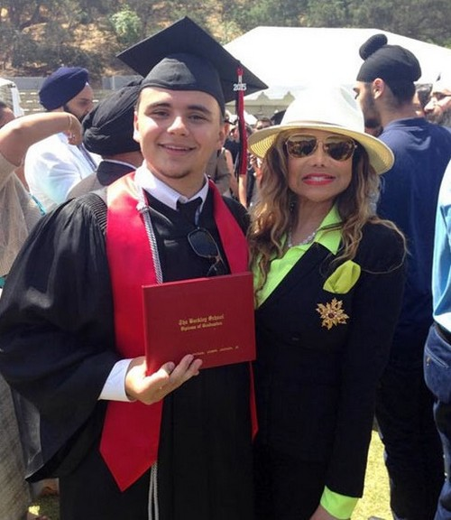 Prince Michael Jackson Graduates High School With Honors: Paris Jackson and Family Cheer