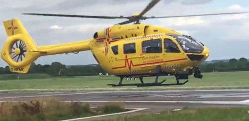 Prince William Devastated: Patient Dies During Final Shift of East Anglian Air Ambulance
