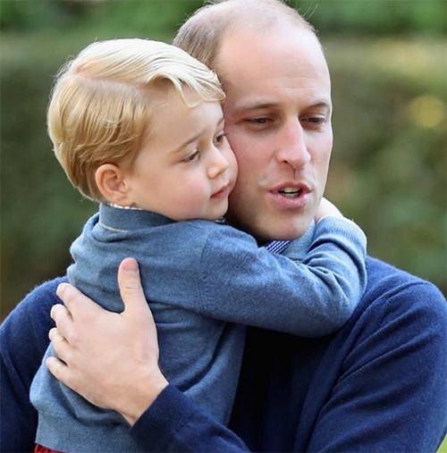 Kate Middleton And Prince William Dress Prince George So He Doesn't Look Like A Suburban Peasant?
