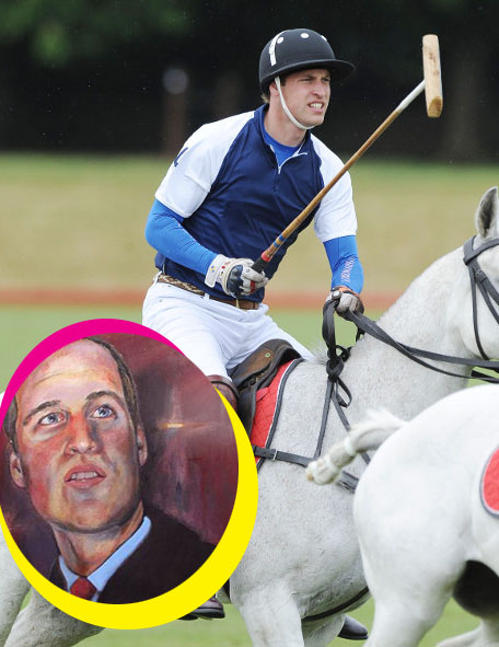 Prince William's Royal Portrait Revealed - The Atrocious Painting's An Embarrassment For The Royal Family!