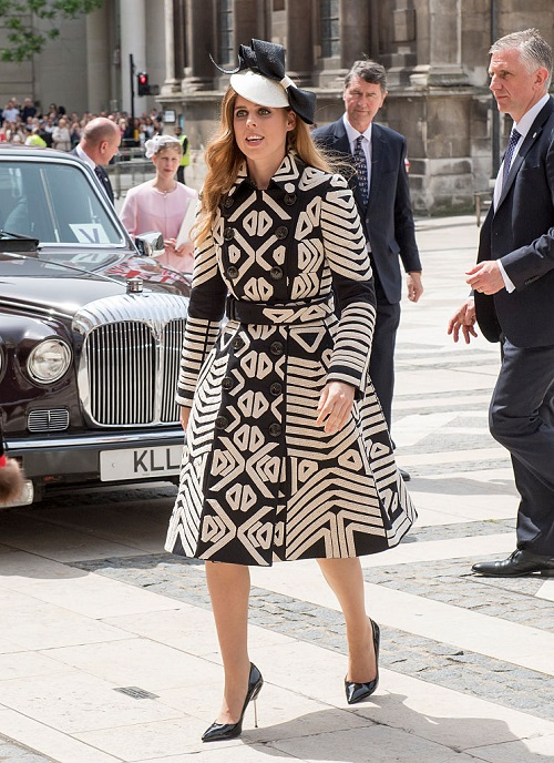 Princess Beatrice Fulfills Her Royal Duties At Ascot After Wild Night Out