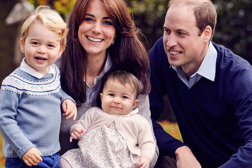 Kate Middleton Perfect Christmas Princess Charlotte Photoped Into Royal Family Holiday Photo