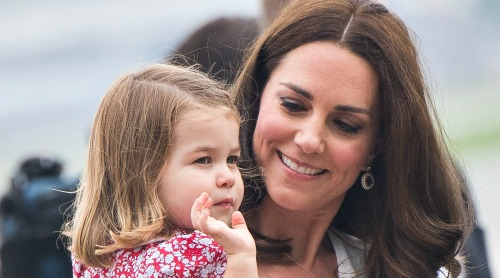 Princess Charlotte is Copying Kate Middleton - Cutest British Royal Daughter-Mom Duo