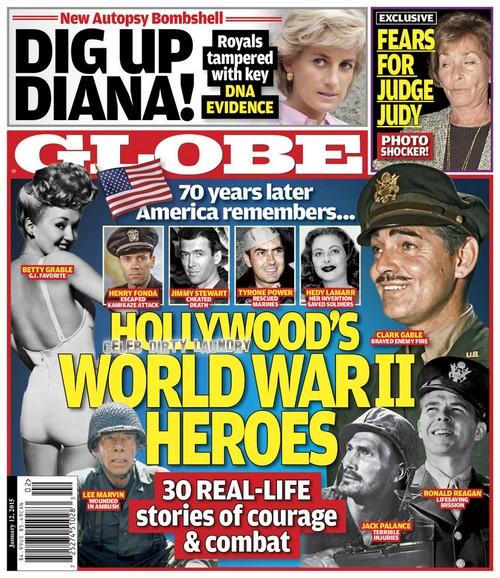 GLOBE: Princess Diana Key DNA Evidence Hidden by Royals - New Autopsy Bombshell (PHOTO)