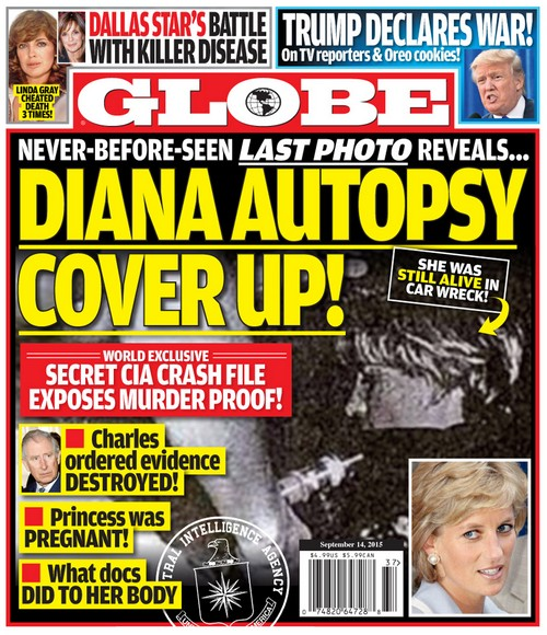 Princess Diana Pregnant and Murdered After Car Wreck - Alleged Autopsy Cover Up?