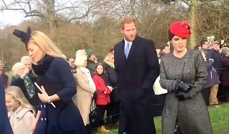 Kate Middleton Jealous Princess Eugenie Deemed Most Fashionable Royal – Svelte Figure Admired At Royals Christmas Service