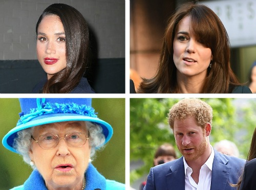 Queen Elizabeth And Kate Middleton Upset With Meghan Markle And Prince Harry's Valentine's Day Love Fest